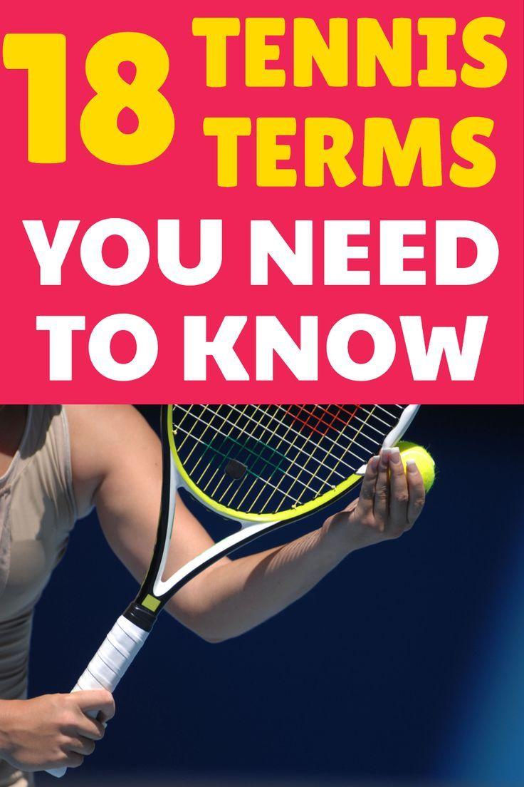 Tennis Terms List For Beginners Tennis Terms Beginner