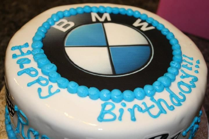 Bmw Cake Bmw Symbol Is An Edible Image Custom Cakes Bmw Cake Bmw Symbol Cake