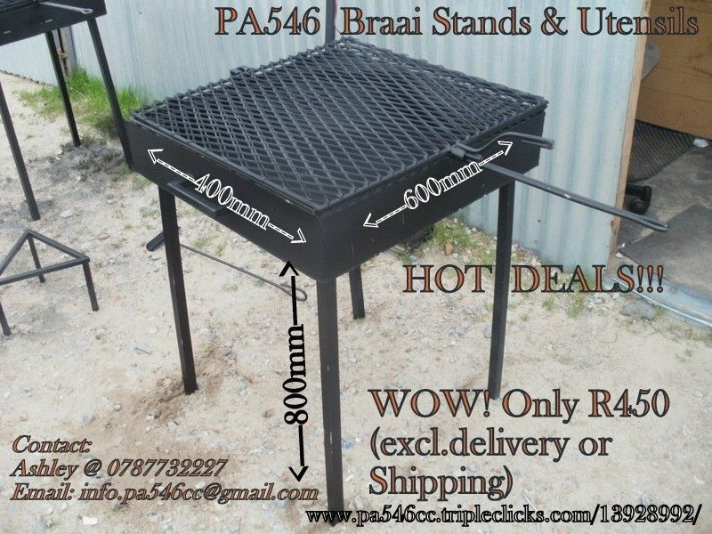 Braai Stand Designs : We are dropping our prices to end the old year and