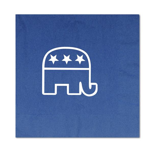 Republican Lunch Napkins 16 Pack Luncheon Napkins Beistle Thoughtful Christmas Gifts