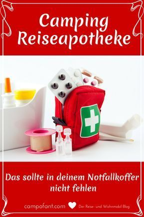 Photo of First-aid kit – that belongs in the Camping emergency kit – Campofant