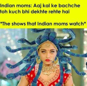 Indian Moms Watching Indian TV Shows