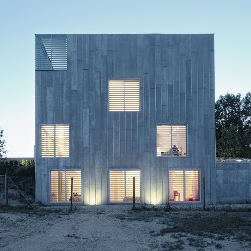 Galer a de casa en las rozas madrid juan herreros - Arquitectos en espana ...