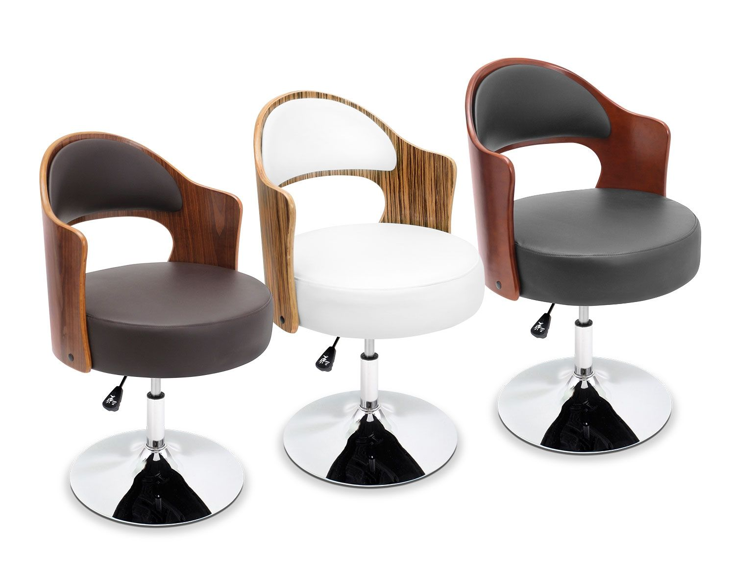 Superb Looking Sleek Zebra Wood Infuses The Park Accent Chair Cjindustries Chair Design For Home Cjindustriesco