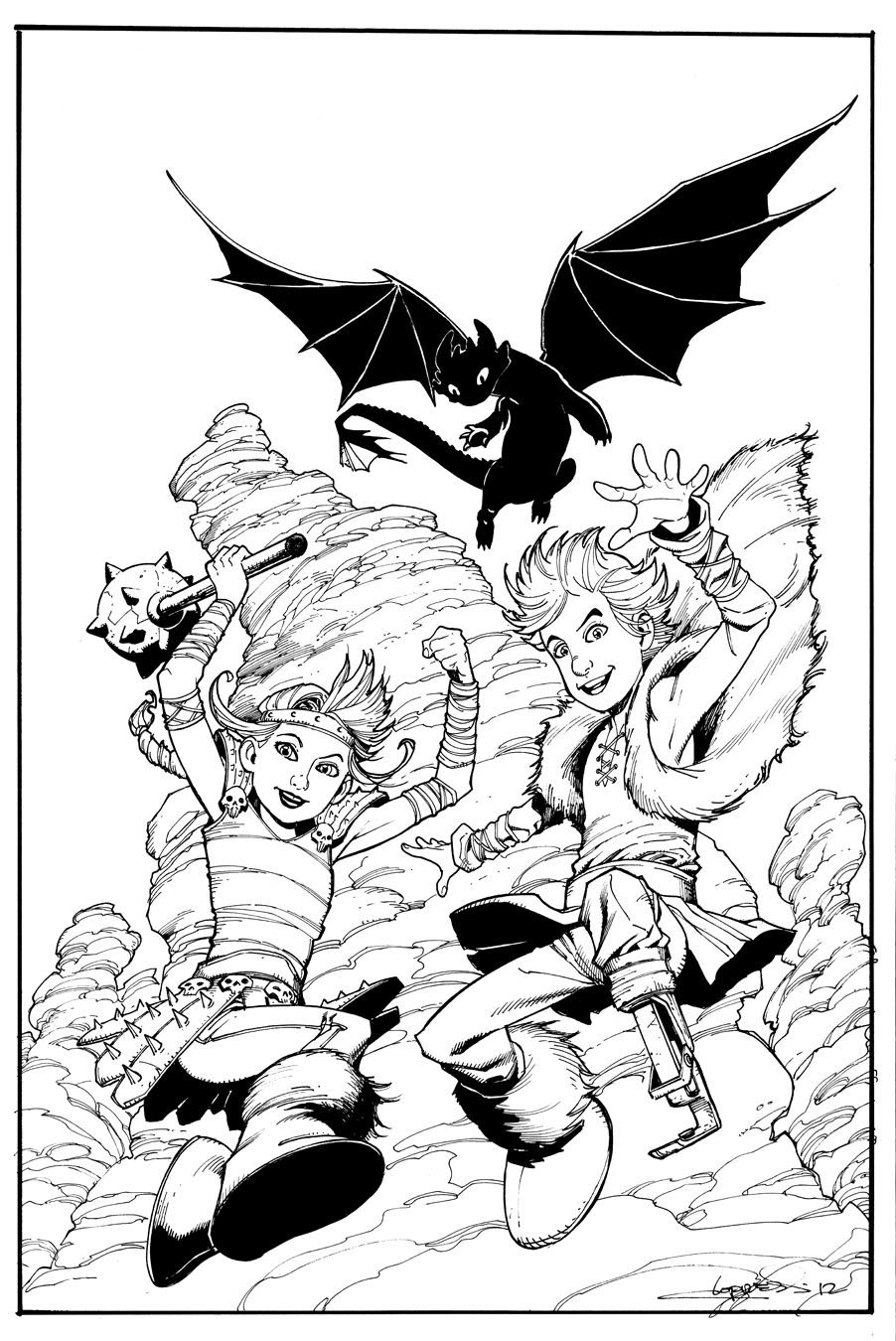 How To Train Your Dragon Cover 2 By Aaronlopresti How Train Your Dragon How To Train Your Dragon Dragon Coloring Page