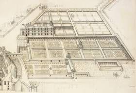 3- - Château royal de Blois: les jardins de Louis XII et Anne de Bretagne// ... (graveur et ...