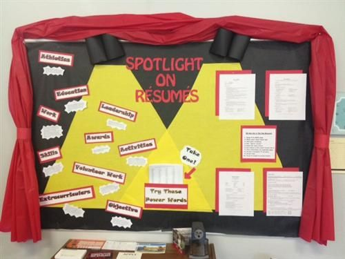 Idea For Themed Bulletin Board With Images Spotlight Bulletin