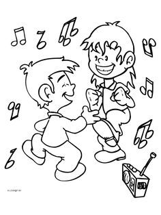 Dance Coloring Pages Dance Coloring Pages Pinterest Dancing