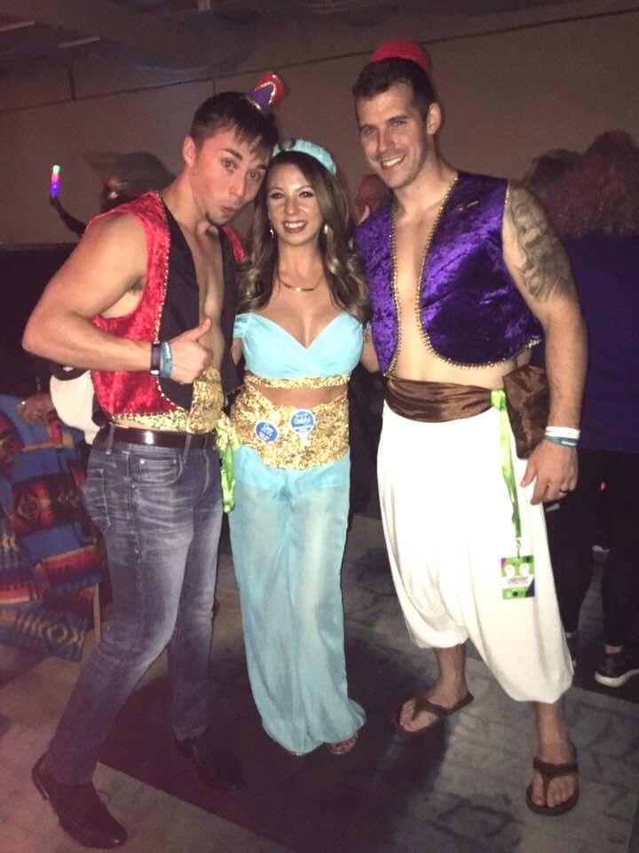 2016 Group Halloween Costumes #disney #aladdin #jasmine #abu  sc 1 st  Pinterest & 2016 Group Halloween Costumes #disney #aladdin #jasmine #abu ...