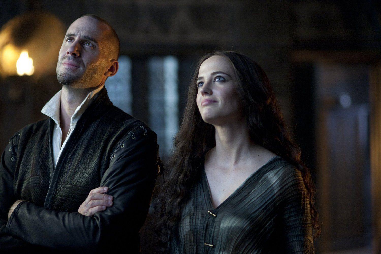 Camelot Tv Series Starz Joseph Fiennes As Merlin And Eva Green As Morgan Le Fay Morgana Eva Green Joseph Fiennes Eva Green Camelot