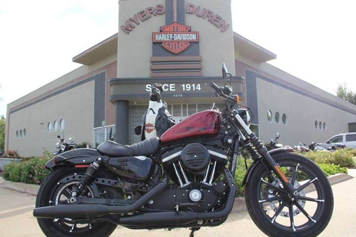 Photo of the Day: 2017 Harley-Davidson Iron 883 in Hard