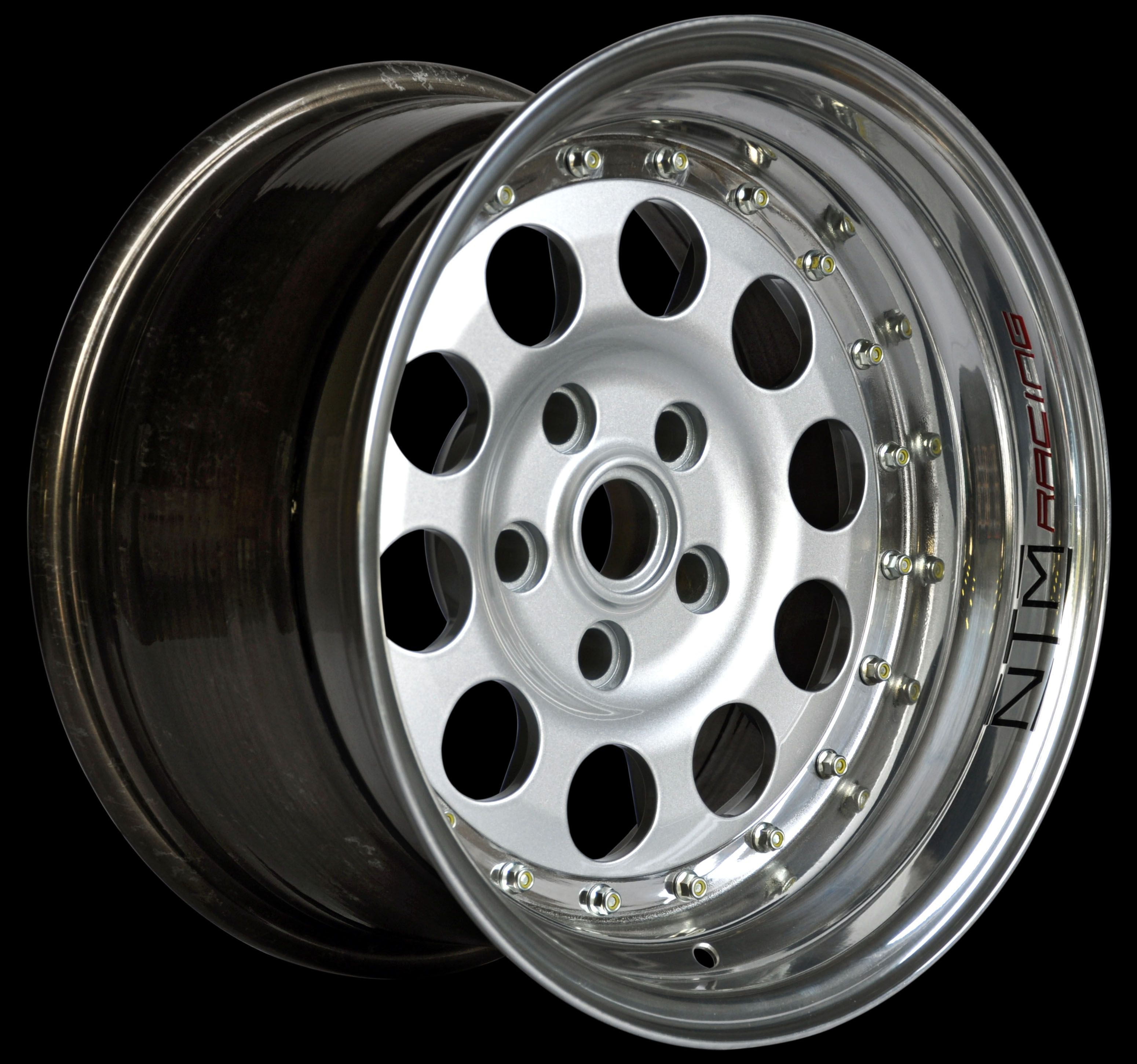 Three Pieces Modular Wheel, For Lancia 037 And