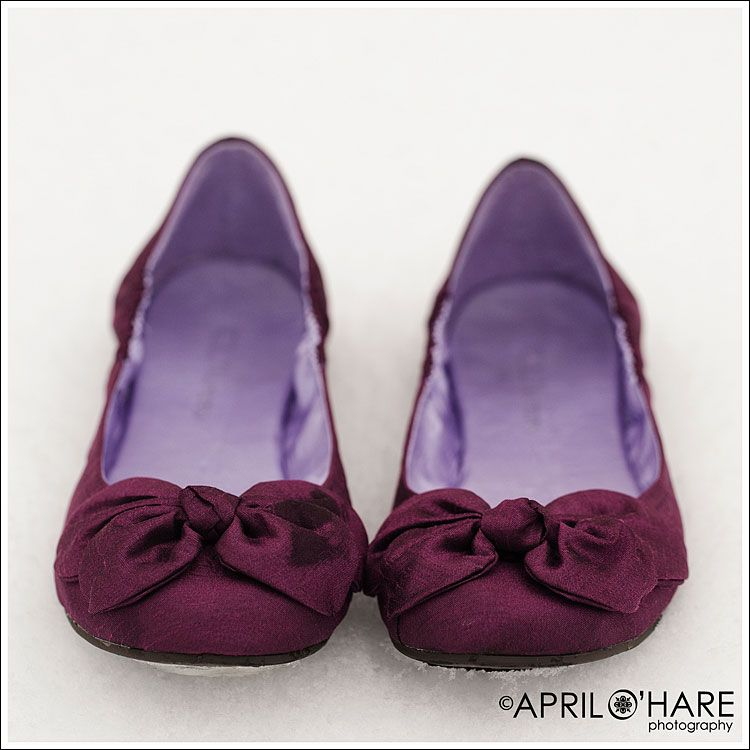 Plum Colored Wedding Ballet Shoes Purple Flats Perhaps For My MOH