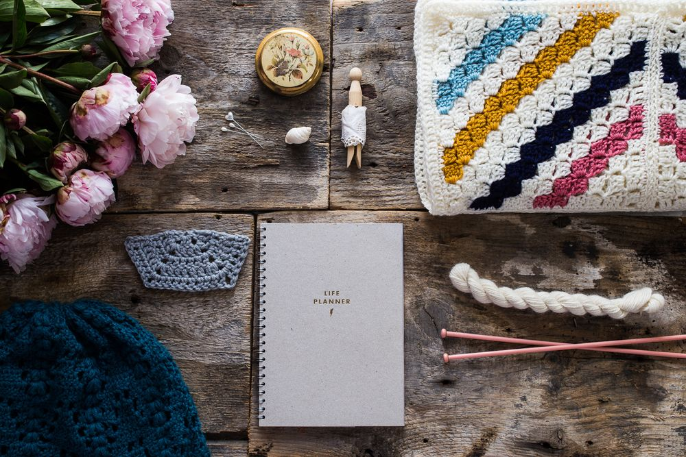 on my desk weekly styled posts of what is going on at Kat Goldin Designs