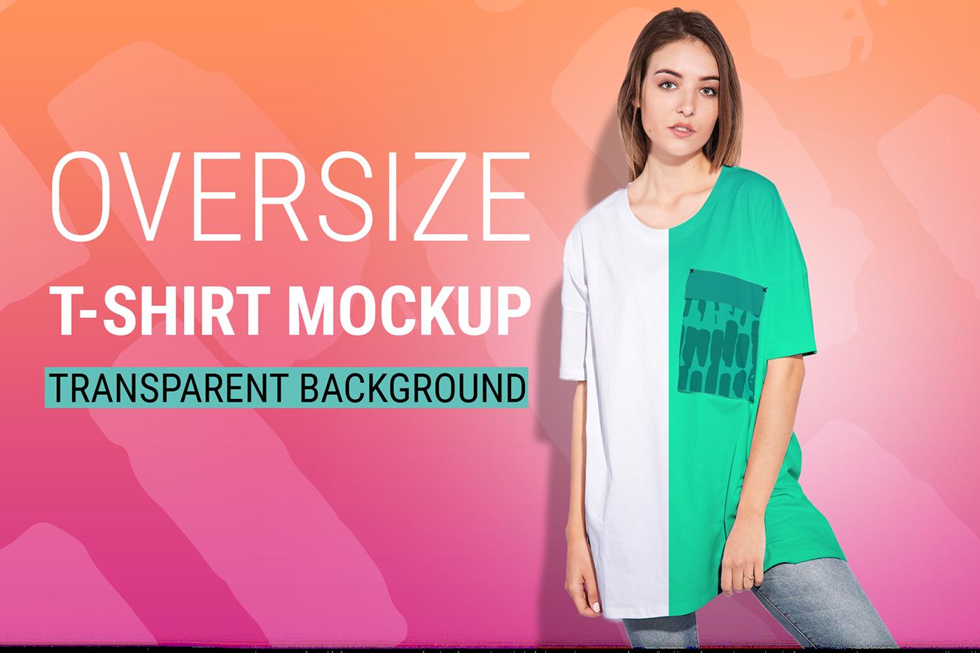 Download Woman Oversize T Shirt Mockup Free Shirt Mockup Tshirt Mockup Oversized Tshirt