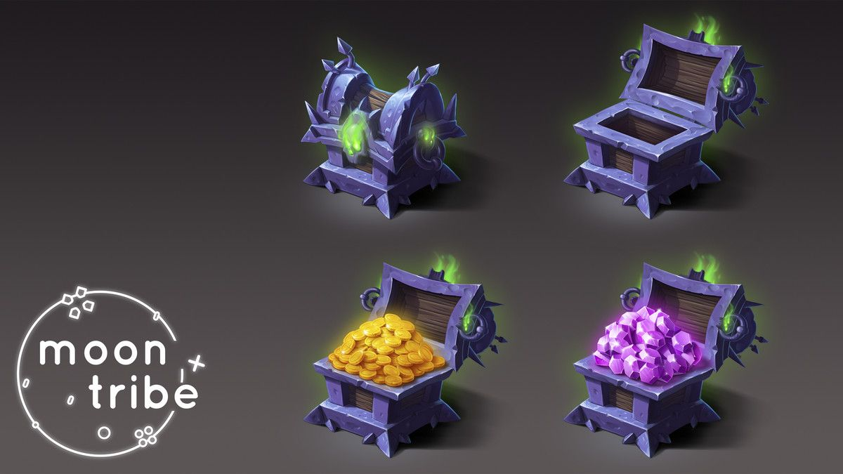 2d Chests Assets Mega Pack In 2020 Isometric Art Fantasy