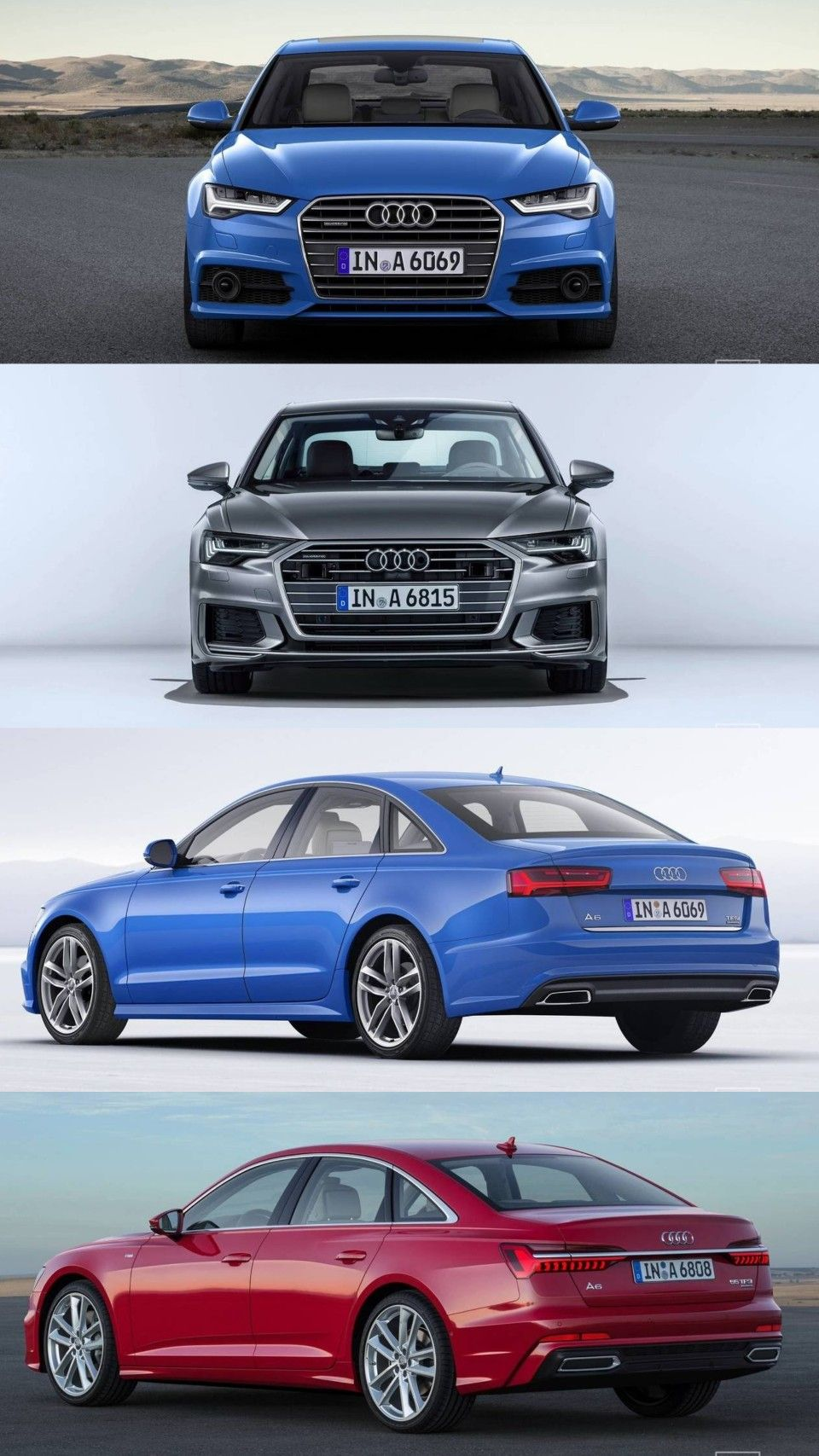 Audi A6 C7 vs Audi A6 C8 #Audi #audia6 #audilover #rs6