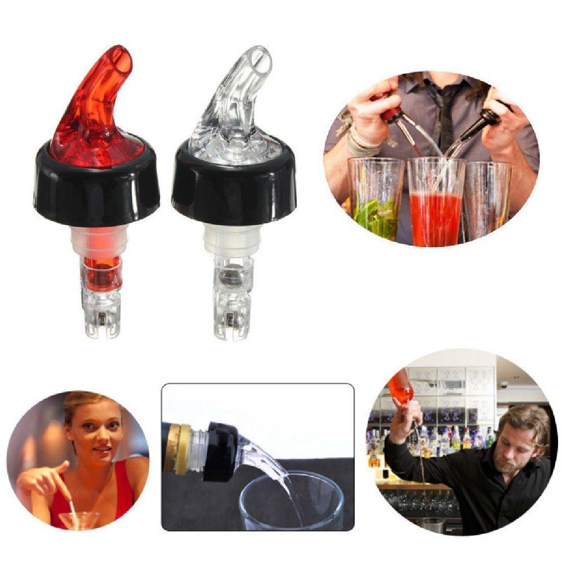 Quick Shot Spirit Measure Measuring Drinks Wine Cocktail Liquor Pourer Dispenser