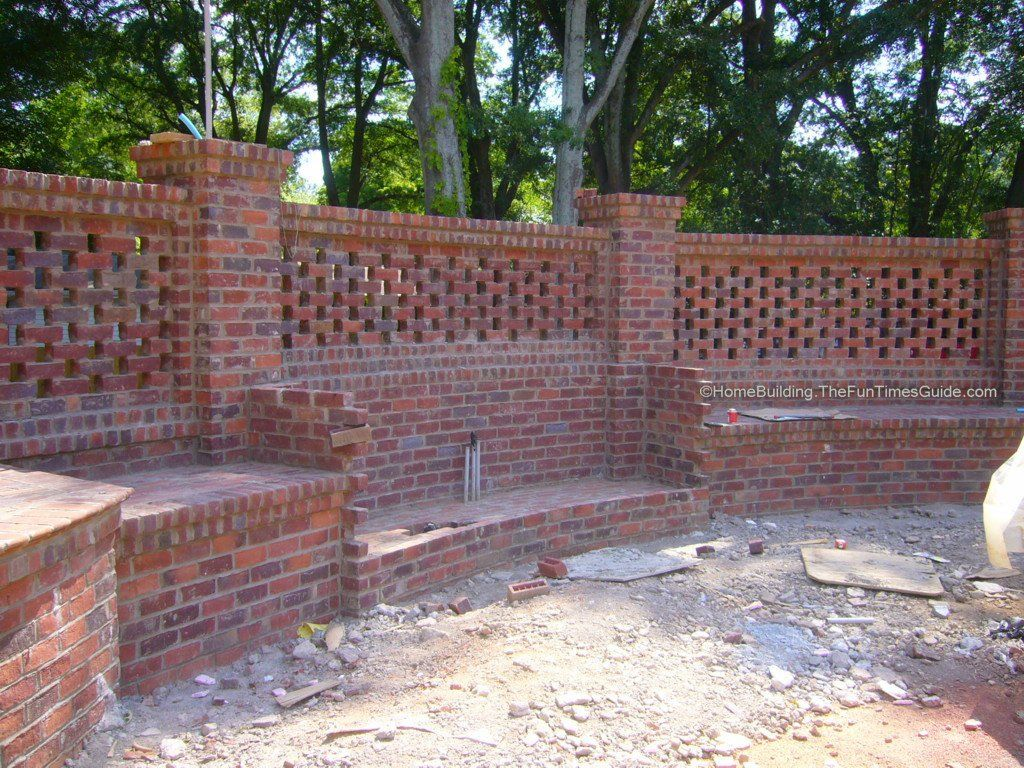Pierced Brick Walls A Classic Screen Alternative Home