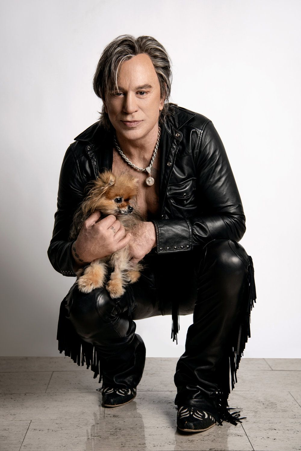 The Talk With Mickey Rourke
