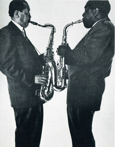 Bird and Prez nedobeatnik:The Pres and The Bird. Lester Young and Charlie Parker for Vogue by Irving Penn, 1952 Great photo, we'd agree. Follow: Mosaic Records Facebook Tumblr Twitter