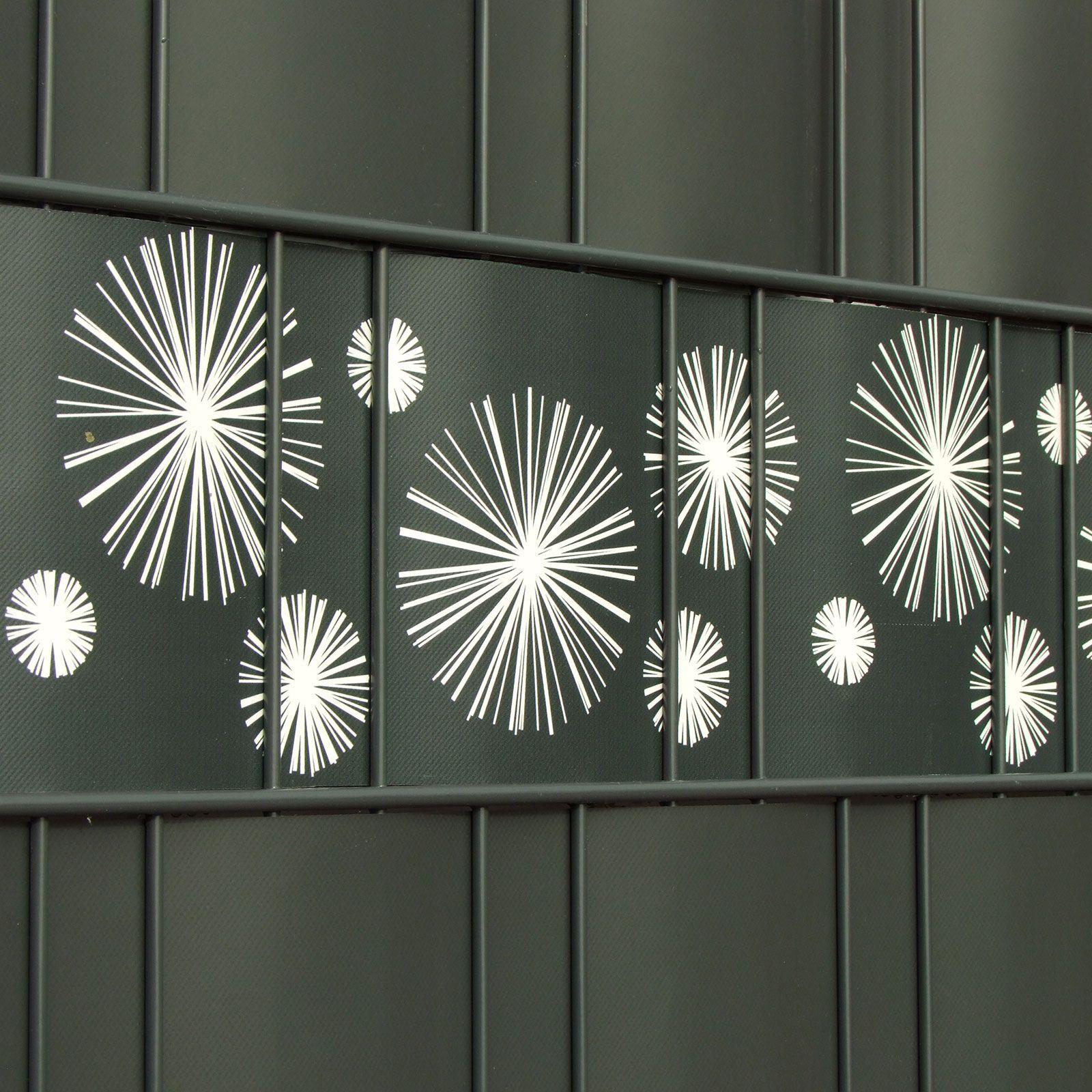 Innenarchitektur Zaun Design Ideen Von Verschiedenen Motive Der Sichtschutzstreifen Für Den Einzigartigen