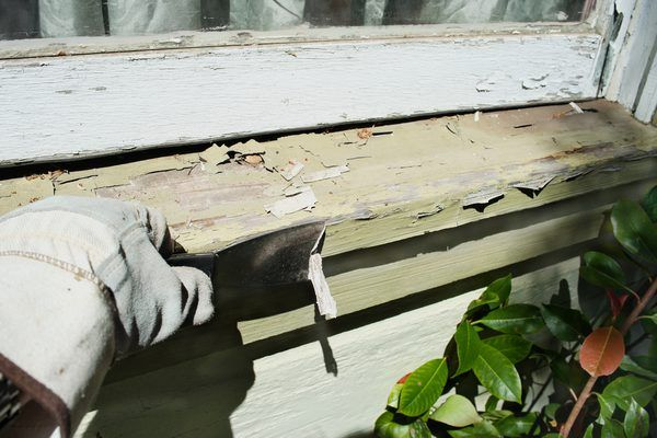 How To Fix Peeling Paint On A Window Sill Exterior Window Sill Outdoor Window Trim Window Sill