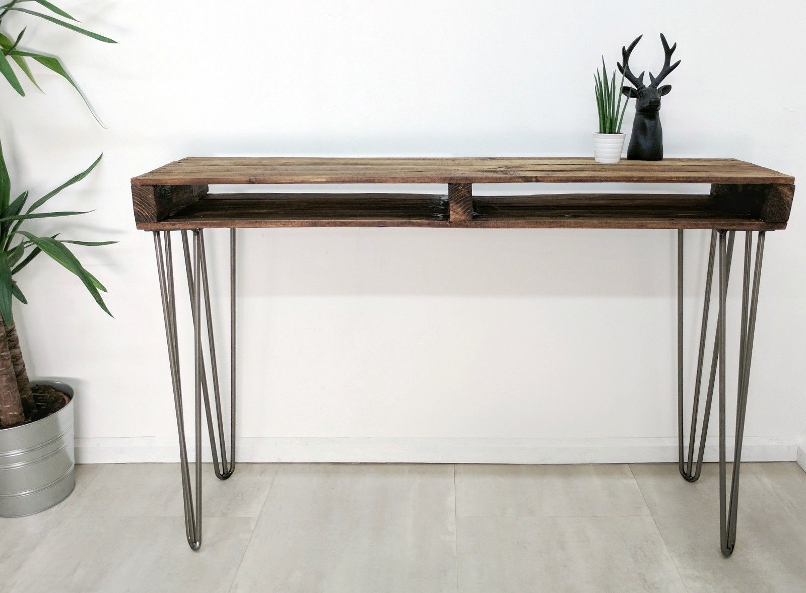 Upcycled Reclaimed Pallet Wood Sideboard/ Hallway Table ...