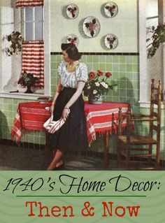 1940′s Home Decor. Wonderful Website- worth going to. | Home ...