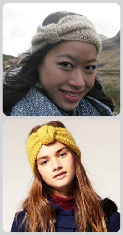 Knotted Headband | Crochet/knitting ideas | Pinterest | Stirnband ...