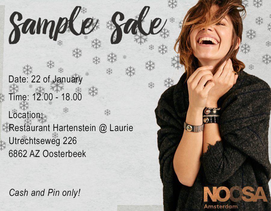 Noosa-Amsterdam Winter Sample Sale bij Restaurant Hartenstein@Laurie te Oosterbeek -- Oosterbeek -- 22/01