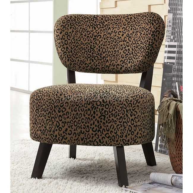 Leopard Print Accent Chair Printed Accent Chairs Accent Chairs Furniture