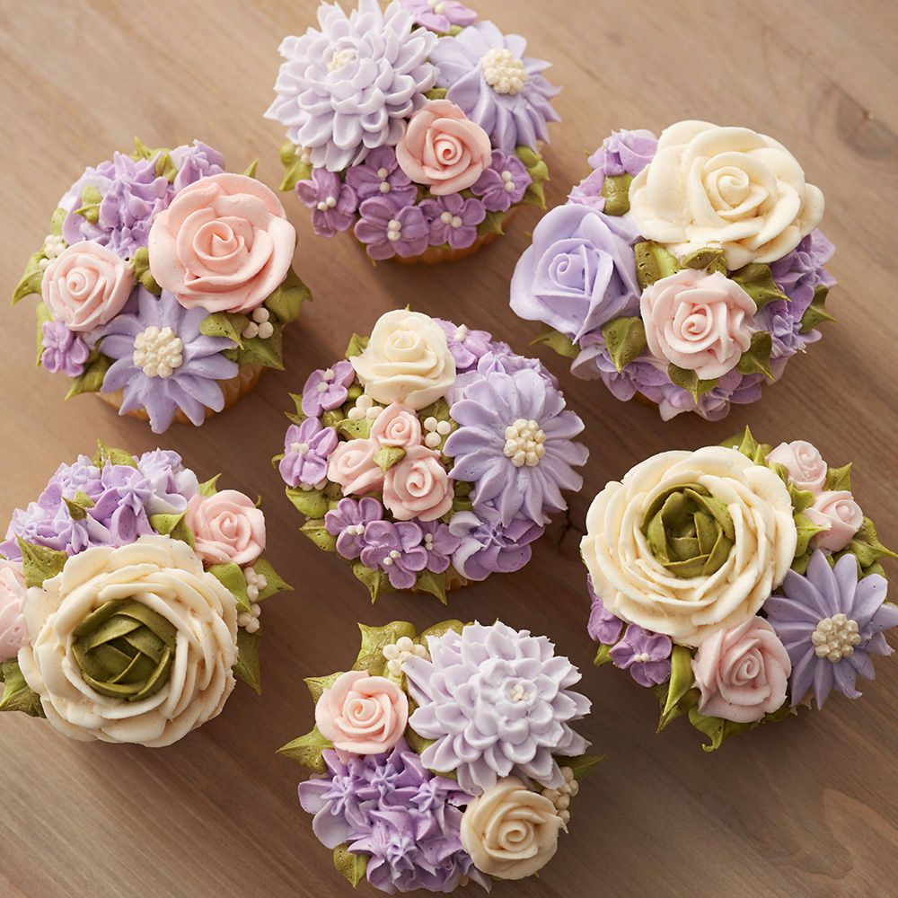 Floral fantasy cupcakes buy flowers floral arrangement and brunch floral fantasy cupcakes izmirmasajfo