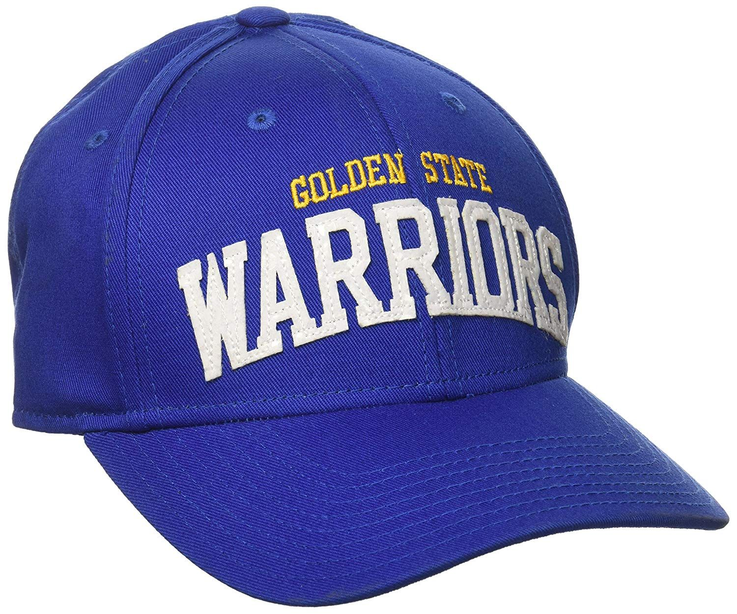 553564755a8 adidas NBA Golden State Warriors Women s Flashy Sequinced Wordmark Structured  Adjustable Hat