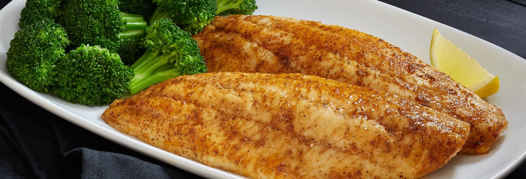 This freshwater fish is tender, slightly sweet and