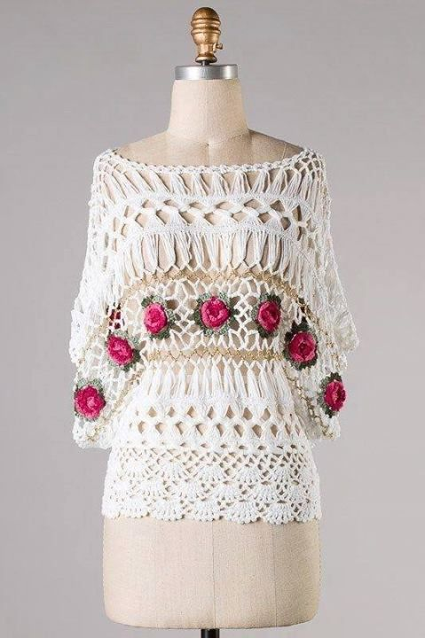 Horquilla - This is beautiful   Hairpin Lace/Maltese Crochet/Вилка ...