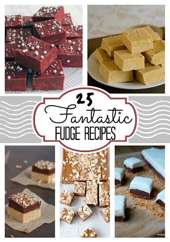**25 Fantastic Fudge Recipes