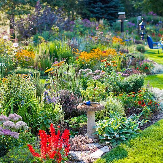 Tips To Attract Birds   How To Layout Your Garden Plan To Attract Birds To  It. From U0027Better Homes And Gardensu0027 Magazine #gardenplanningideasarticlu2026