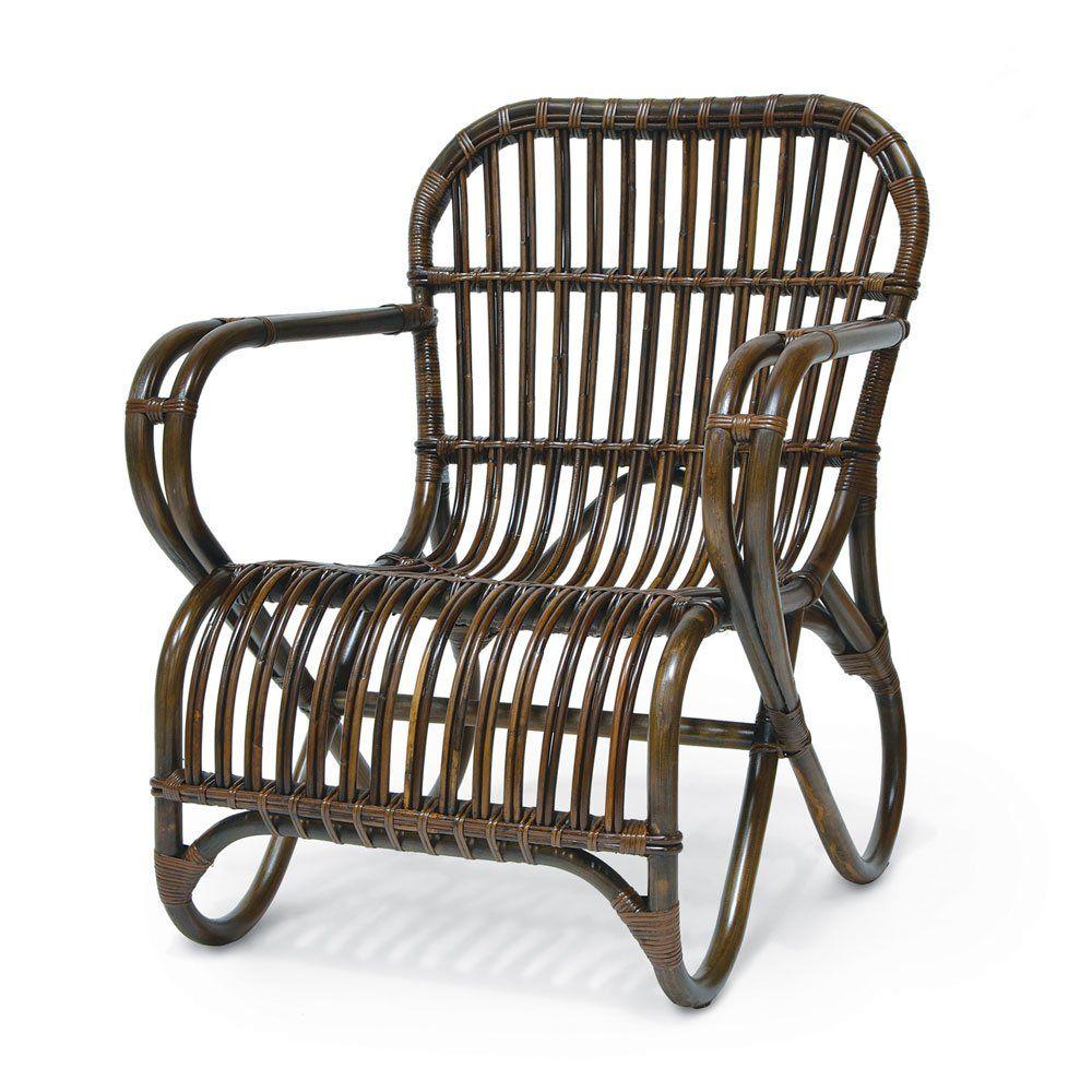 Pleasing Palecek Retro Rattan Low Lounge Chair Pk 7353 70 Palecek Theyellowbook Wood Chair Design Ideas Theyellowbookinfo