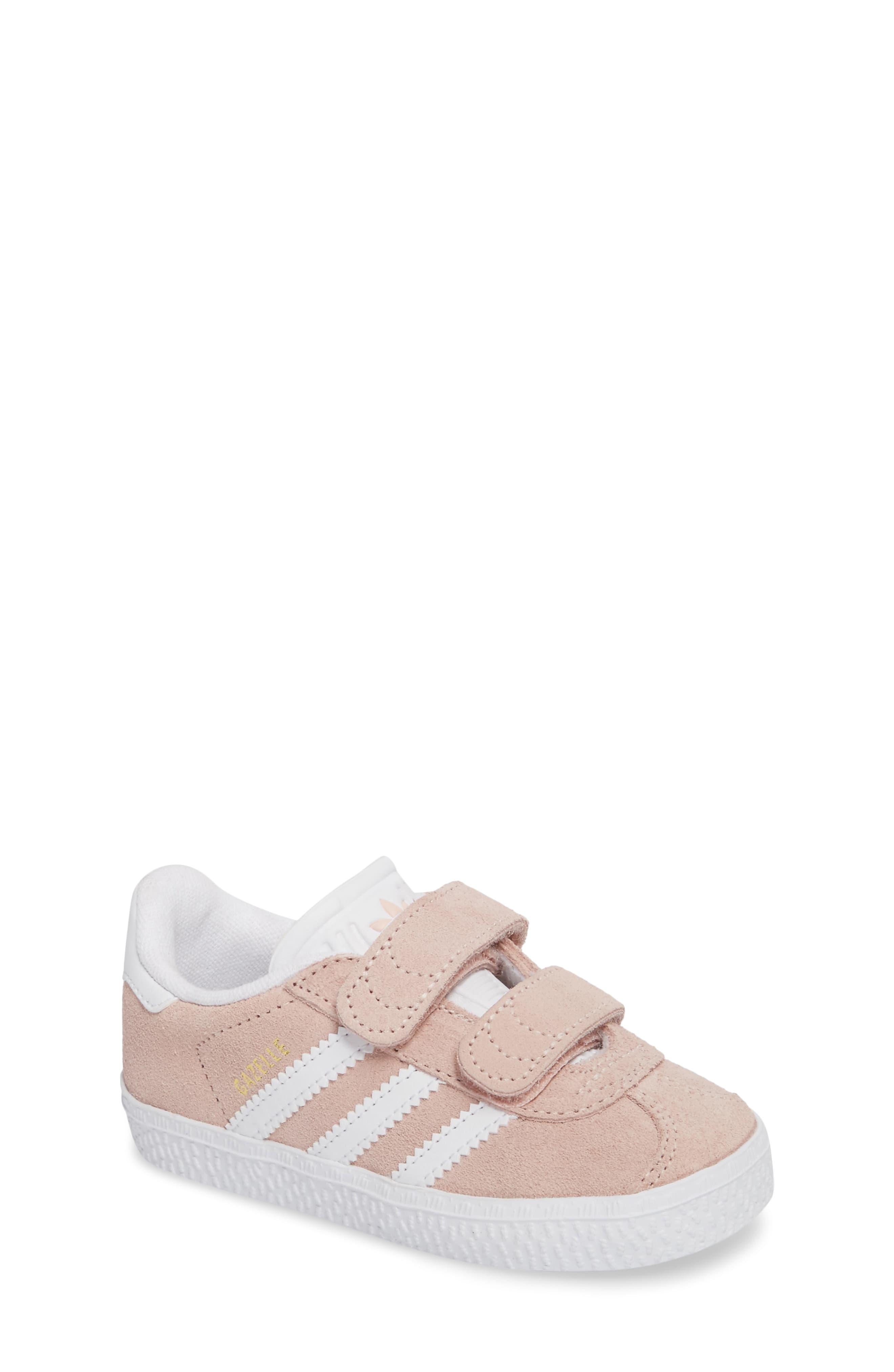 Zapatos 2018 estilo clásico rebajas Toddler Girl's Adidas Gazelle Sneaker, Size 10 M - Pink | Sneakers ...