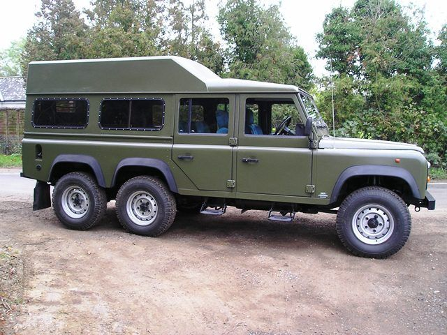 Land Rover Defender 6 Wheel Drive Conversion, 6x6   Defender ...