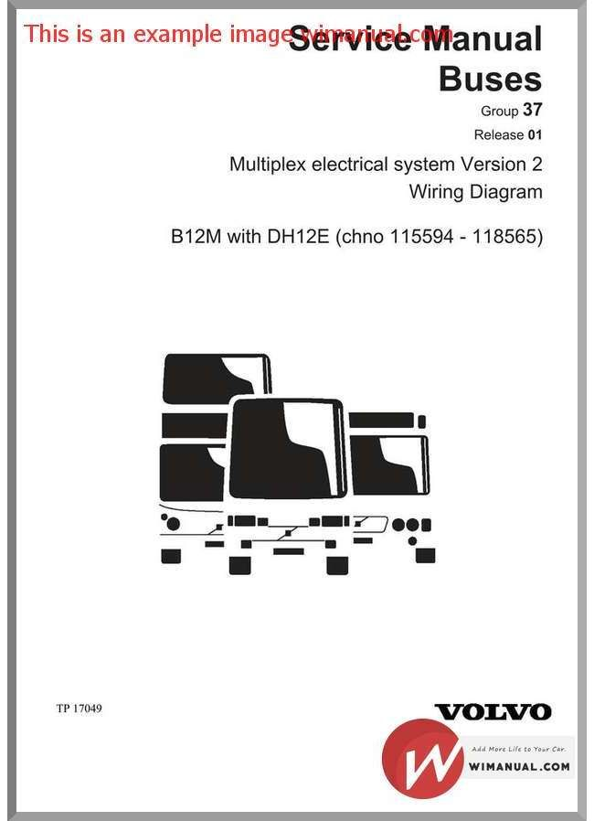 Volvo B12m With Dh12e Service Manual Volvo Manual Hydraulic Pump