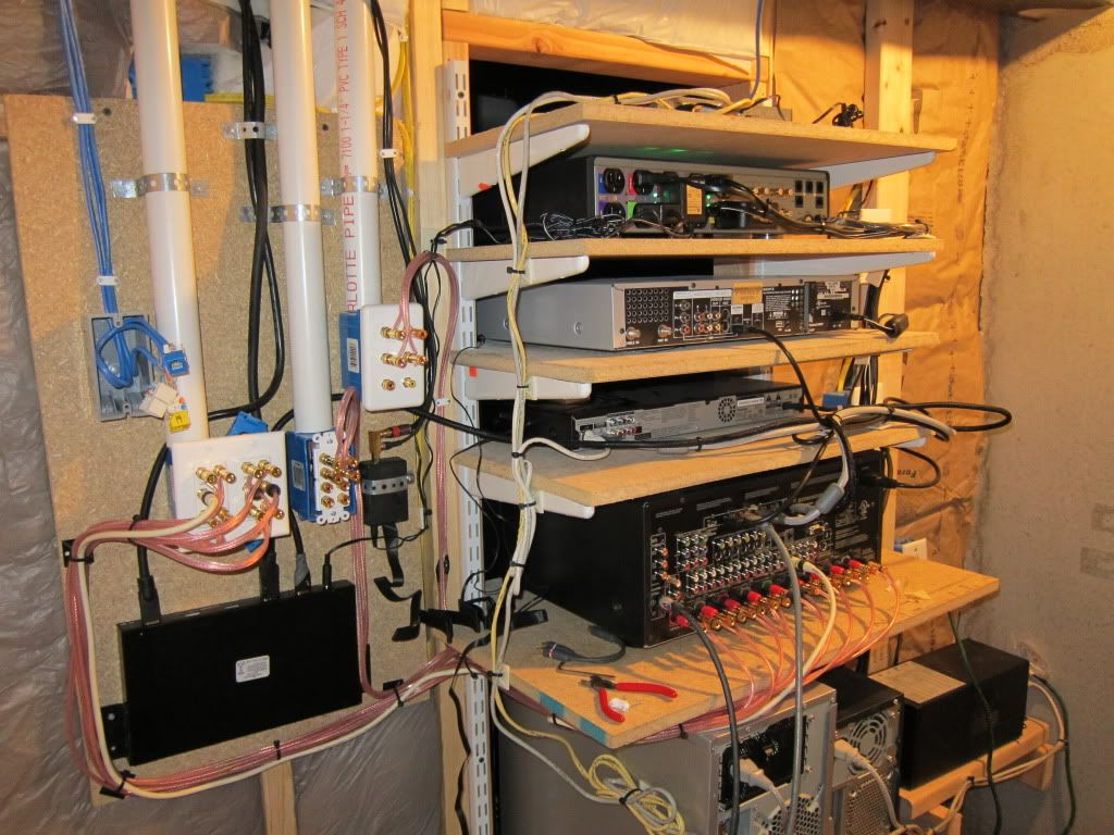 Simple Closet Organization Wire Shelving