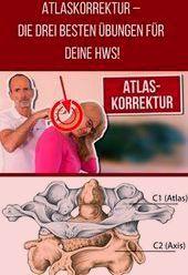 Atlaskorrektur - diese 3 Übungen sind Gold für die Halswirbelsäule!   - Gesundheit #atlaskorrektur #...