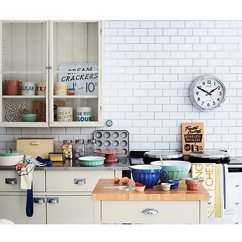 John Lewis Home Comforts Bread Bin, Cream | Kitchen design ...
