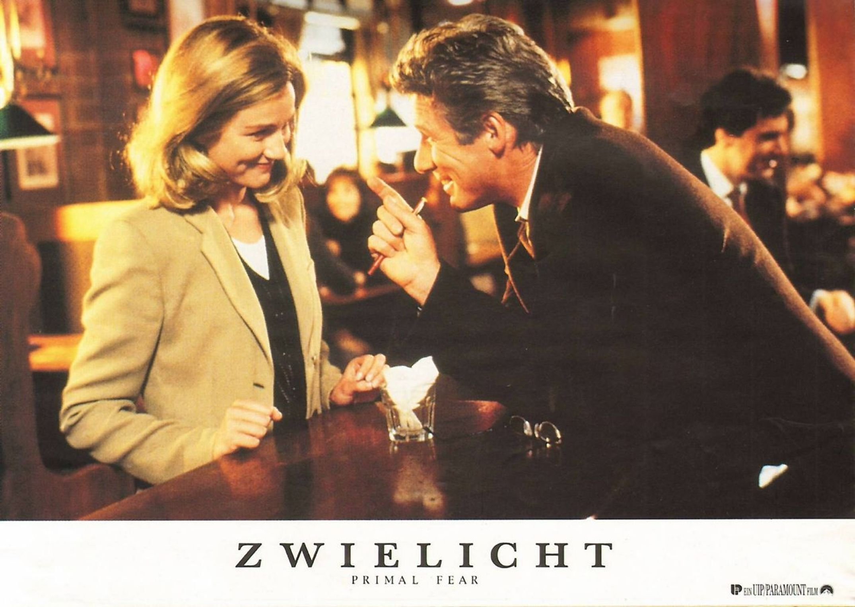 Primal Fear German Lobby Card 1996 L To R Laura Linney