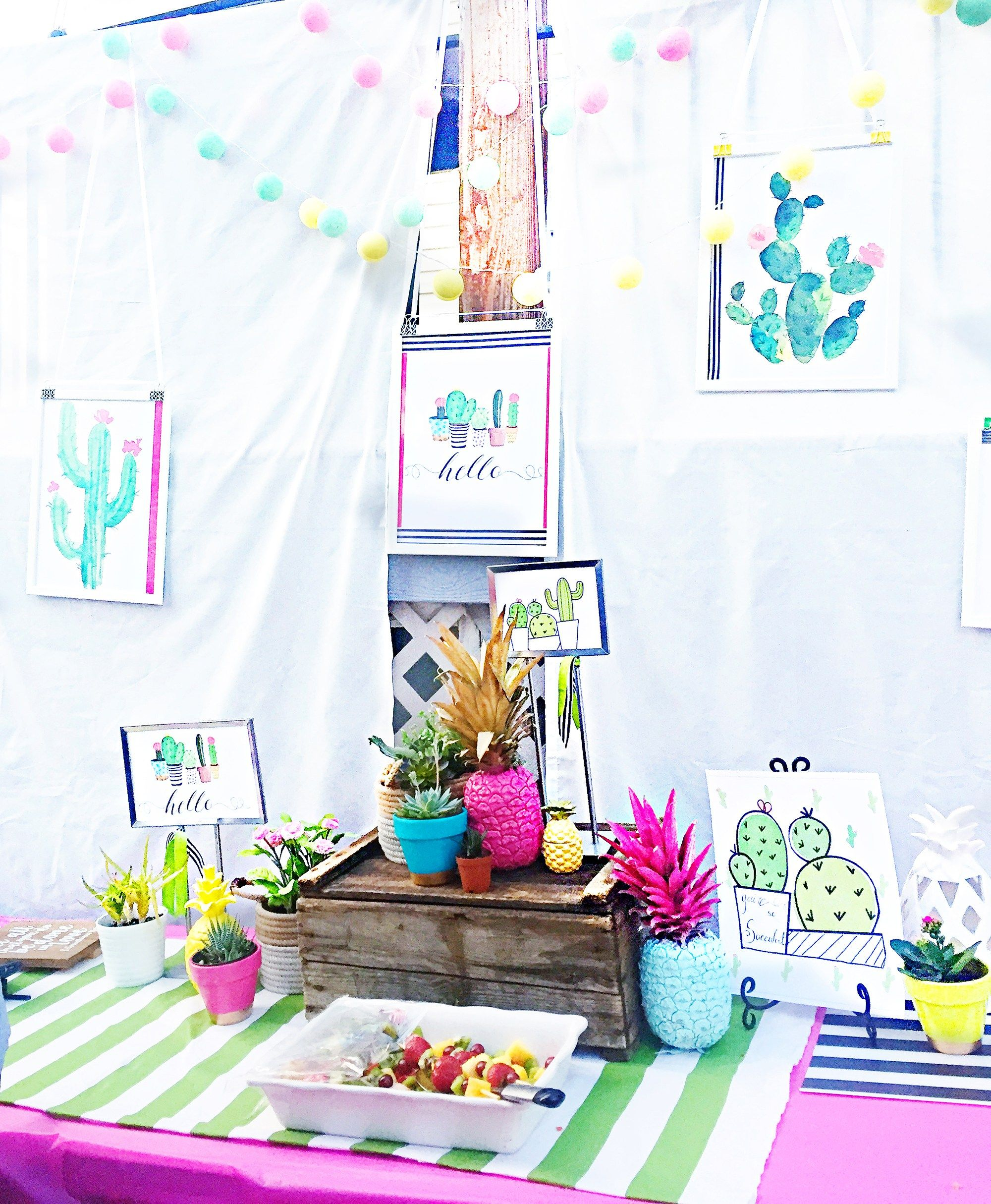 Tropical wedding shower | Summer bridal showers, Summer weddings and ...