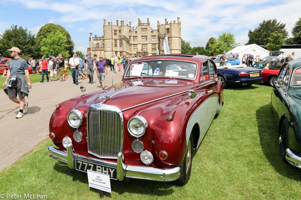 Annual Car Show At The Sherborne Castle In Dorset County England - Car show england