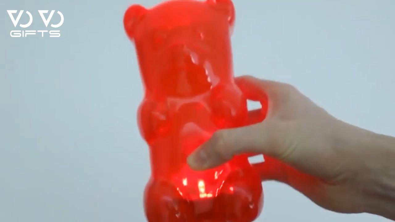 Giant gummy bear night light invention vovogifts new