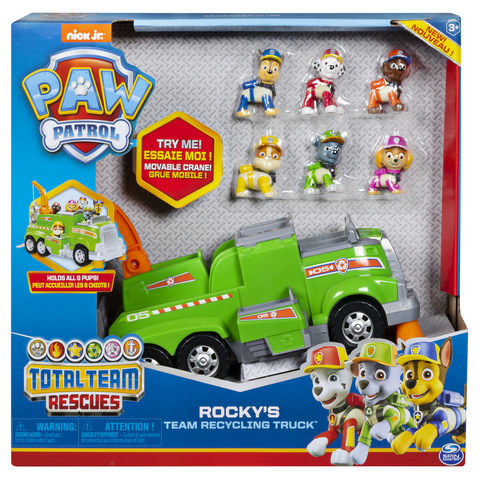 PAW Patrol Ultimate Police Rescue Vehicle Toy Kids Figures Action Xmas New Truck